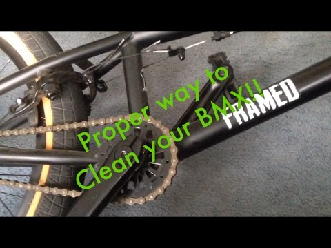 How to clean your BMX