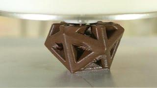 Hershey's 3D Printer Prints Chocolate