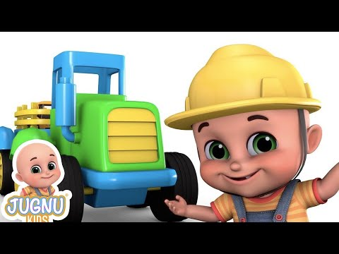 Kids Toys - Lawn Tractor - Surprise Egg Toys - Toys Unboxing from Jugnu Kids