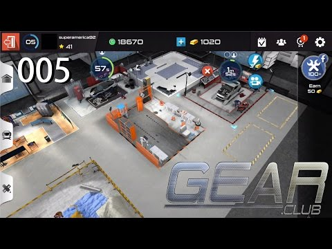 Gear Club [005] Upgrade The Garage - Let's Play Gear Club IOS Gameplay [1080p / FullHD]