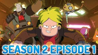 Final Space is the BEST Story Cartoon on Adult Swim Right Now! Season 2, Episode 1 Review