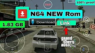 (N64) How To Download  GTA  5 On Android With Data Files