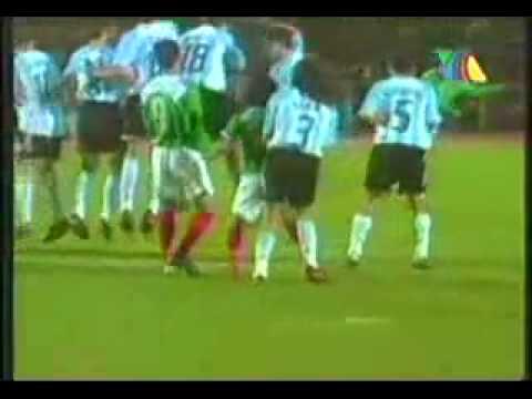 Gol de Ramon Morales vs. Argentina