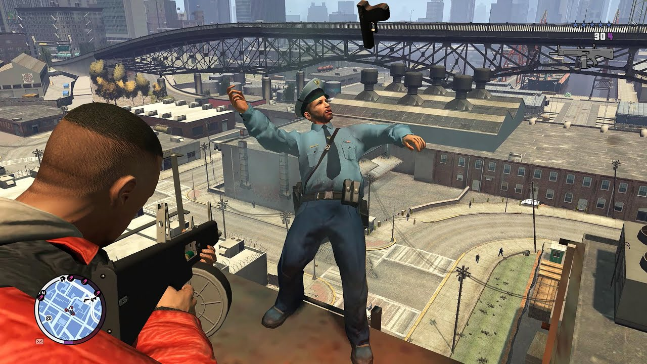 GTA 4: Funny & Brutal Moments - PC Gameplay