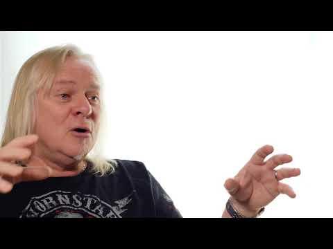 "Uriah Heep - Bernie Talks About Making of ""Living The Dream"""