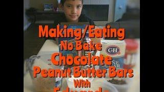 #daivnerds - #howto - No Bake Chocolate Peanut Butter Bars