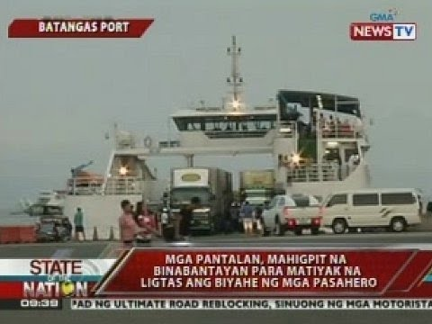 SONA: RoRo vessel pa-Romblon, tumigil sa gitna ng dagat