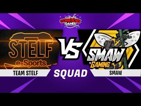 TEAM STELF vs SMAW GAMING - TORNEIO SQUAD PS4 - OITAVAS DE FINAL