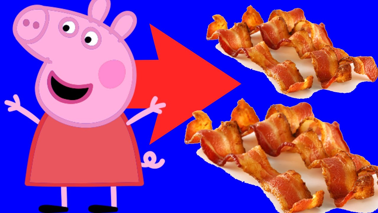 Peppa Pig Becomes Bacon Because Of Valorant (Funny Edit)