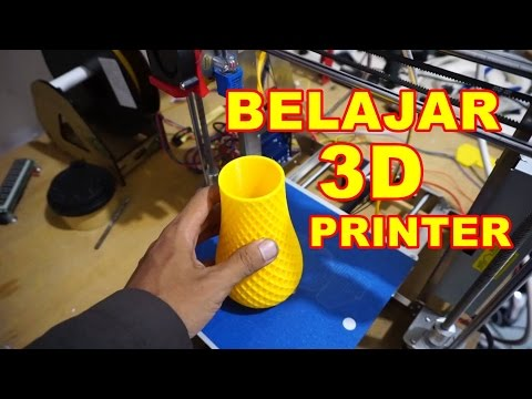 Cara Menggunakan Printer 3D VLOG76