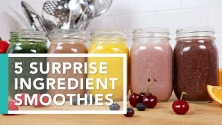 5 Surprise Ingredient Smoothies | Better Breakfasts