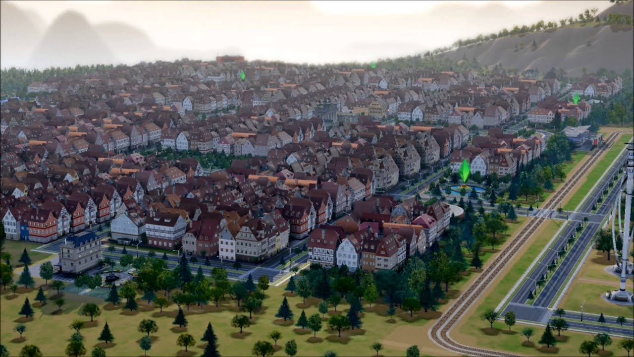 Sim City German Architecture DLC