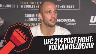 UFC 214 Post-Fight: Volkan Oezdemir