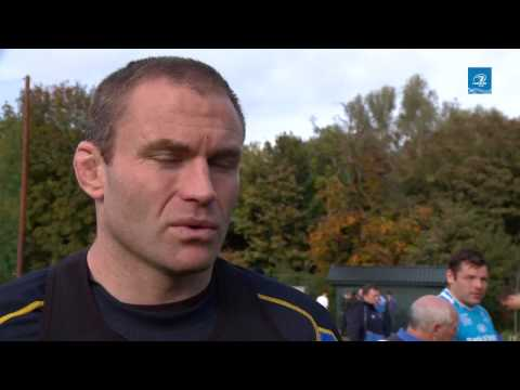 LTV:Leinster Pitchside Briefing Damian Browne Interview