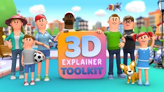 3D Explainer Video Toolkit