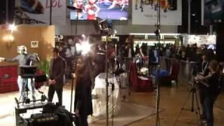 Salon du cinéma tournage 2009 ESRA + Jean -Pierre Jeunet