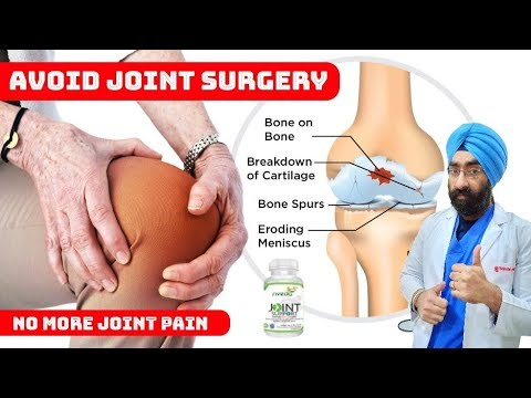 Collagen Type 2 - For Any Joint Pain | How To Avoid Knee Replacement | Dr.Education (ENG)