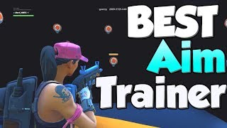 THE BEST FORTNITE AIM TRAINER for Pc Console & Mobile | Perfect Aim!