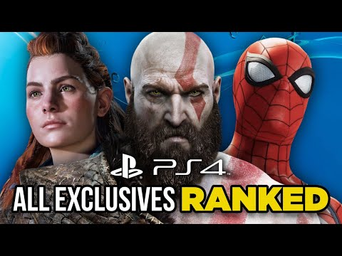 Ranking Every PS4