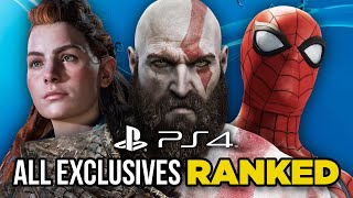 Ranking Every PS4 Exclusive From Worst To Best
