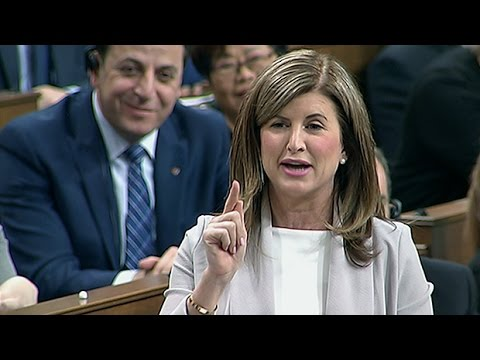 Ambrose's last question to Trudeau