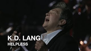 Neil Young - Helpless (k.d. lang cover)