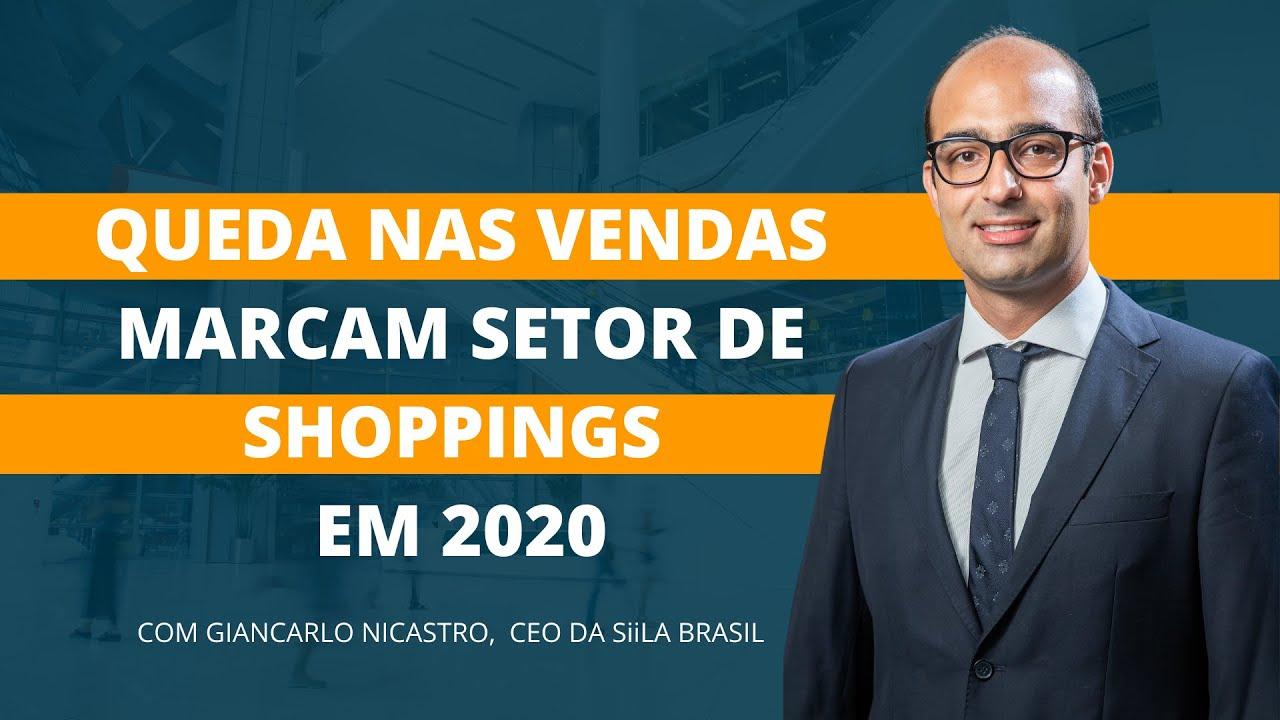 Vídeo: Queda nas vendas marcam setor de shoppings em 2020