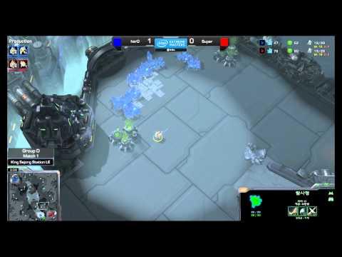IEM 시즌9 - San Jose 스타크래프트II Group D 김준호 vs 서성민