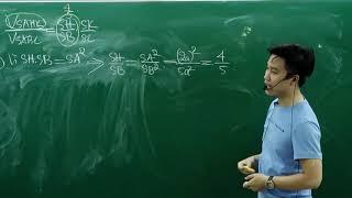 3 ví dụ tiêu biểu về tỉ lệ thể tích 12 _định lý simson _thâỳ Nguyễn Quốc