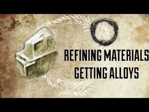 ESO   Refining Ores For Getting Tempering Alloys