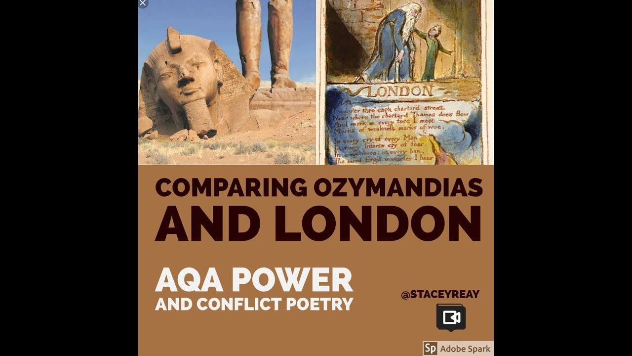 comparing ozymandias to london comparing ozymandias to london