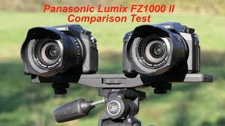 Panasonic Lumix FZ1000 II comparison test with the original FZ1000