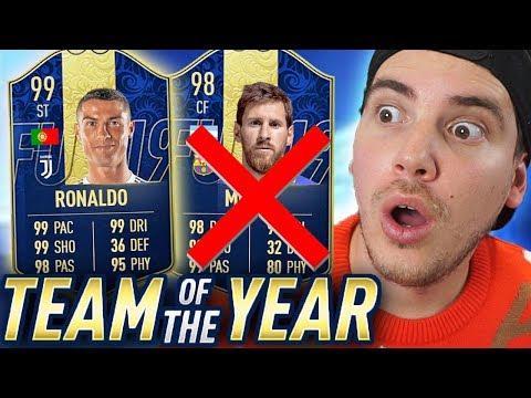ECCO I TOTY di FIFA 19!! I MIEI VOTI + PREMI FUT CHAMPIONS *very good* - FIFA 19 thumbnail