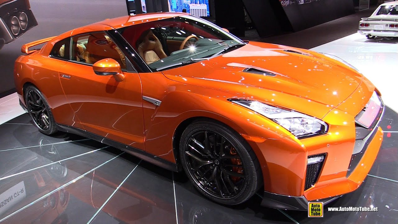 Nissan Gtr 2017 Interior >> 2017 Nissan GT-R - Exterior and Interior Walkaround - Debut at 2016 New York Auto Show - YouTube