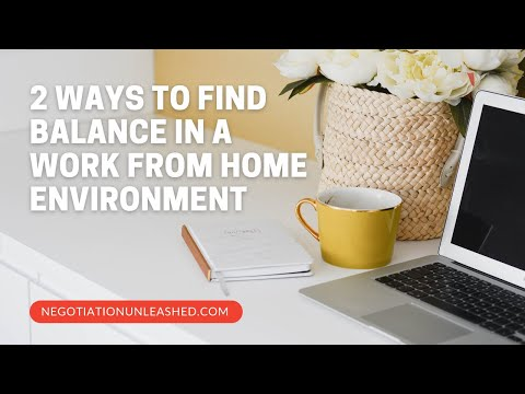 2 Tips for Success in a Work at Home Environment