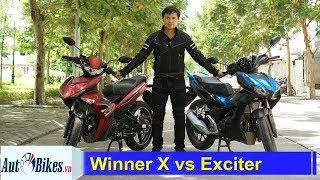 So sánh Honda Winner X với Yamaha Exciter: Khơi mào cuộc ch.i.ế.n mới