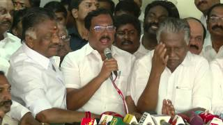 I want to support all of AIADMK MLA feet OPS - Pandiarajan Joins OPS