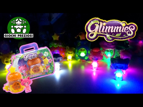 GLIMMIES SUPER GALORE ! - Glimhouse & Pack da 3 con Varianti!