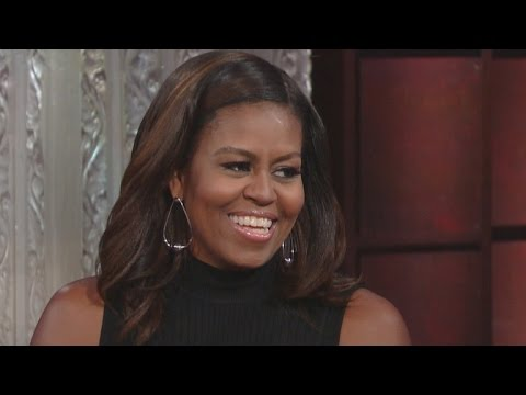 Michelle Obama Shows Off Her Impression of Barack, Candidly Addresses Melania Trump Speech Blunder