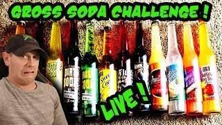 Gross Soda Claw Machine  Challenge Livestream!
