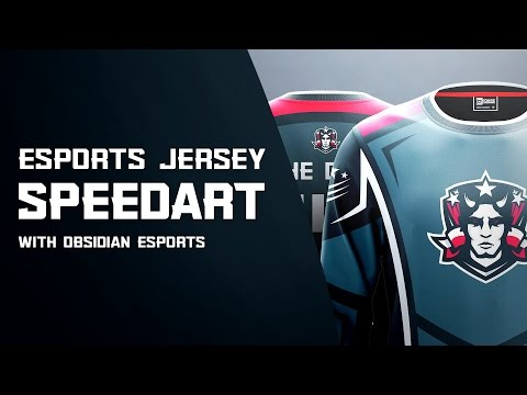 e-Sports Jersey Design | Photoshop SpeedArt | DaseDesigns