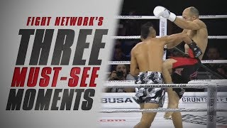 Flash KO's to Win Title and Tournament at GLORY 48 New York | Top 3 Must-See Moments