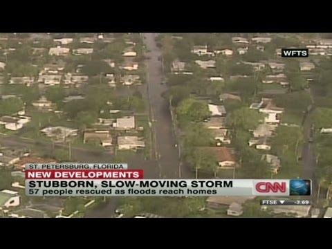 Tropical Storm Debby leaving Florida underwater