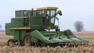 1972 John Deere 4400 Combine on 11-6-2011 thumbnail