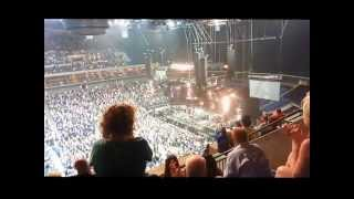 Pearl Jam's first Tulsa show ever. sorry but I was in the nose blee...
