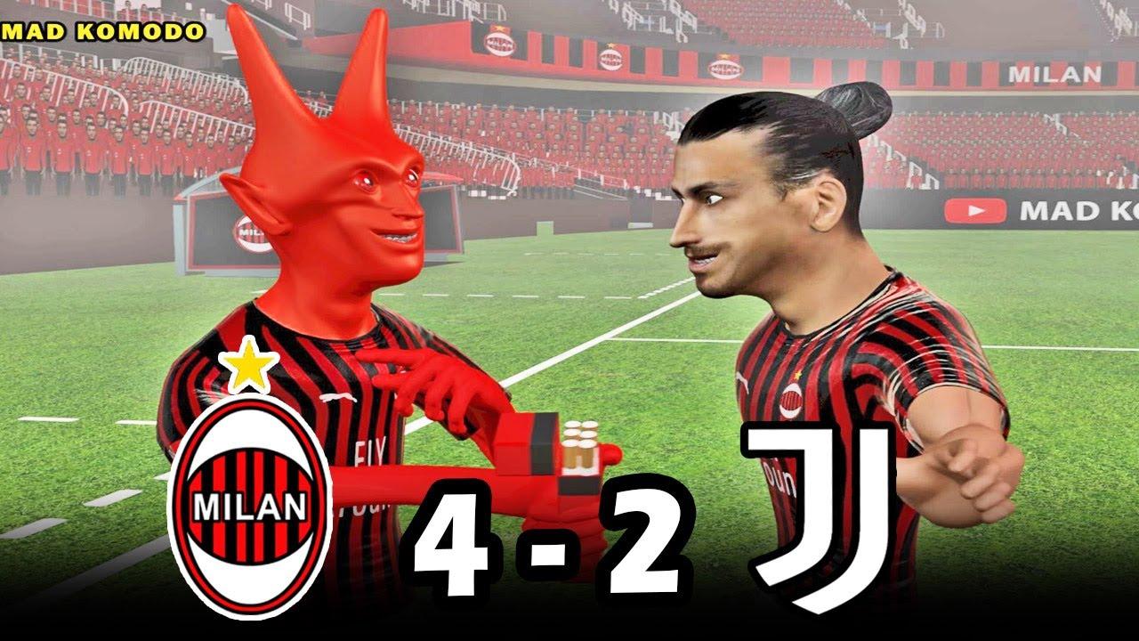 MILAN 4-2 JUVENTUS | Parody Highlights | Serie A @Tiziano ...