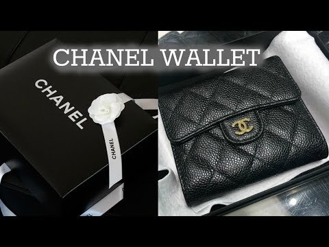 CHANEL Wallet Unboxing