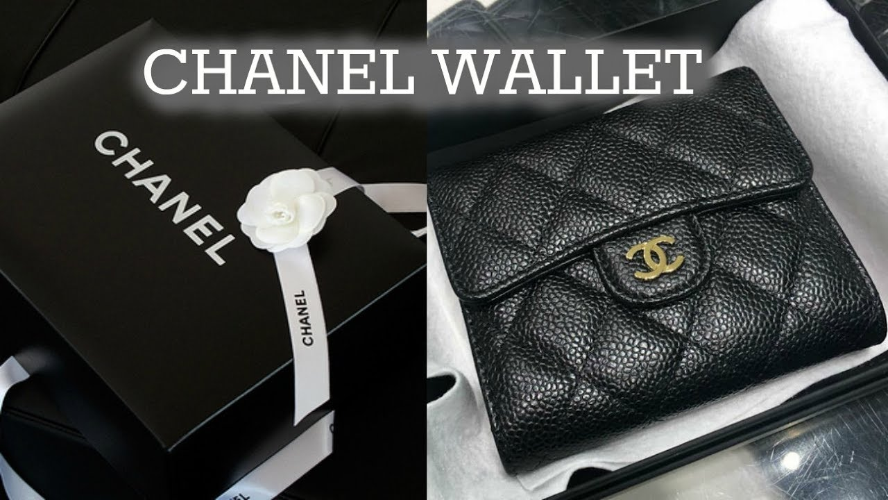 0e20bdbc9a0a CHANEL Wallet Unboxing - YouTube