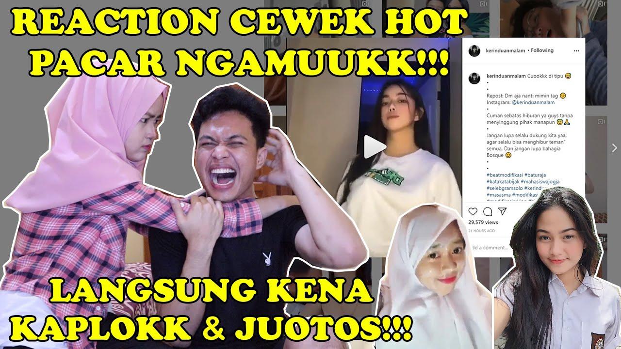 PACAR LANGSUNG NGAMUUKK PARAH!!! || NGGA MAU LAGI REACTION CEWEK INI!!!