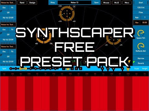 SYNTHSCAPER - 15 New Scenes Pack by Noise Inc - 100% FREE - How To Install